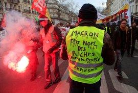 Stávka na železnici komplikuje Francouzům přesuny na svátky (19. 12. 2019)