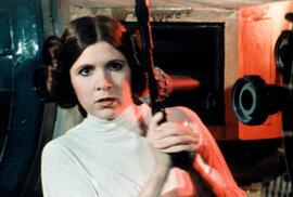 Tři roky bez princezny. Připomeňte si hvězdu Star Wars Carrie Fisherovou v dojemném …