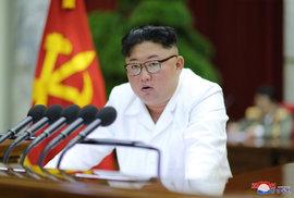 Severokorejský vůdce Kim Čong-un.