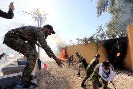 Situace v Iráku se vyhrocuje. Okolí americké ambasády a vojenské základny zasáhly …