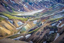 Trasa z Landmannalaugharu do Thorsmorku patří k nejkrásnějším trekům světa
