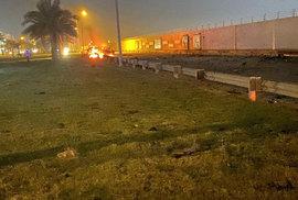 Při raketovém útoku na letiště v Bagdádu byl zabit velitel íránských elitních jednotek Kuds Kásim Sulejmání.