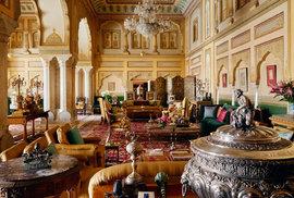 Airbnb nabízí apartmá v královském paláci v indickém Džajpuru