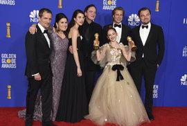 Film Tenkrát v Hollywoodu renomovaného Quentina Tarrantina, vyšel v hlavní kategorii Zlatých Glóbů naprázdno.