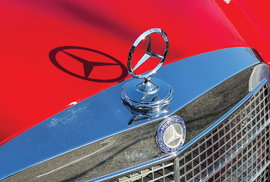 Replika Mercedes-Benz 300 SEL 6.8 AMG Red Pig