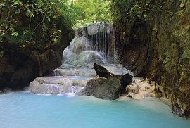 Jedna z úrovní vodopádů Aguinid