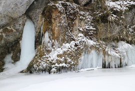 Zdolání soutěsky Prielom Hornádu aneb Zimní výprava do nejdelšího kaňonu Slovenského ráje