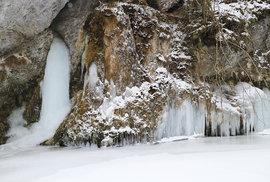 Zimní Prielom Hornádu