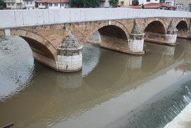 Šeher-ćehajův most pochází z počátku sedmnáctého století