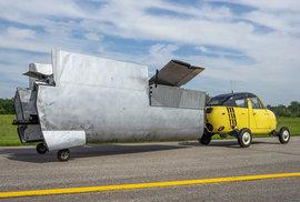 Létající automobil Taylor Aerocar.