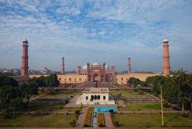 Mughalská mešita Bádšáhí
