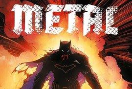 Obálka komiksu Temné noci - Metal, který vyšel v říjnu 2019