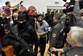 Tomáš. Sz. u soudu kvůli vraždě Jána Kuciaka a jeho snoubenky