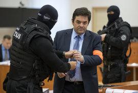 Marian Kočner u soudu 15. ledna 2020.