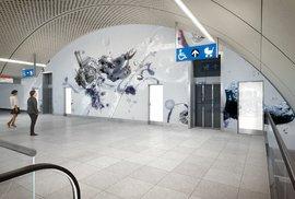 Metro D, Praha, metro, doprava, IPR, vizualizace
