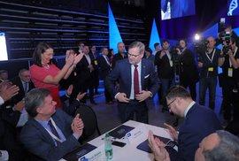 Fiala obhájil funkci předsedy ODS, získal přes 90 procent hlasů, protikandidáta neměl