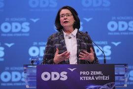 29. kongres ODS: Poslankyně Miroslava Němcová (18.1.2020)
