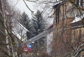 Osm obětí požáru v domově důchodců ve Vejprtech: Jde o muže s mentálním a kombinovaným postižením