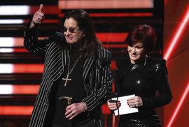 Grammy 2020: Ozzy Osbourne s manželkou Sharon