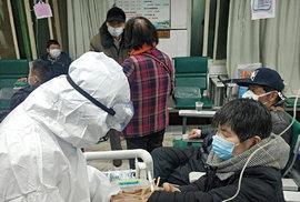 Nakažených koronavirem v Číně dál přibývá (28.1.2020)