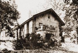 Smíchovská usedlost Závěrka, vjejíž zahradě se odehrálo vlednu 1933 krvavé drama