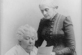 Susan B. Anthonyová a Elisabeth Cady Stantonová