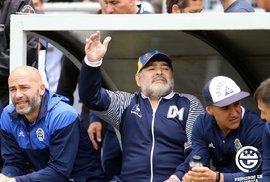 Diego Maradona v roce 2020