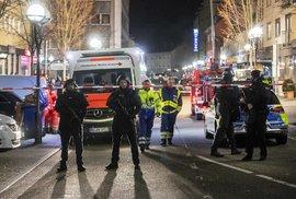 Střelec měl extremistickou motivaci, řekla Merkelová. Vrah zabíjel v Hanau lidi s migračními kořeny
