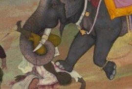 Poprava slonem byla v jihovýchodní Asii oblíbeným trestem.