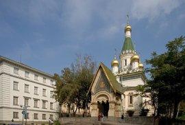 Kostel sv. Mikuláše v bulharské Sofii