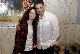 Martin Dejdar s dcerou