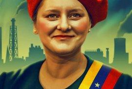 Jana Venezuela Maláčová - plakát od Jana Ignáce Říhy