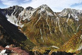 Hřebeny severních Japonských Alp
