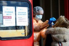 Pražská Nemocnice na Bulovce spustila 13. března 2020 provoz odběrového místa pro vzorky na testování nákazy COVID-19.