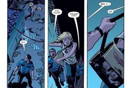 Zemři, Robine, zemři! Znepokojující objev – občané Gothamu jsou v šoku z Robinova těla ležícího na ulici.