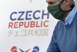 Předseda Českého olympijského výboru (ČOV) Jiří Kejval na briefingu