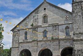 Nejstarší kostel na Filipínách najdeme ve městě Baclayon na ostrově Bohol
