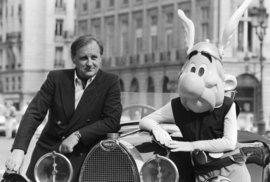 Albert Uderzo, spoluautor komiksů o Asterixovi a Obelixovi