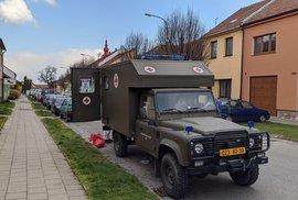 Start chytré karantény na jižní Moravě. Klíčové odběry provádí armáda.