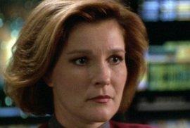 Star Trek - kapitánka Kathryn Jane-Wayová
