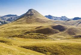 Pohoří Zelengora ležící v národním parku Sutjeska