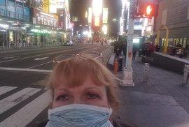 Zubní lékařka českého původu ZDENKA  HAUNER MANLEY, New York, 16. dubna 2020