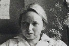 Zdenka Hauner Manley jako studentka pražské medicíny v roce 1979.