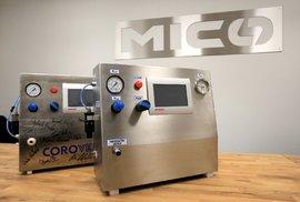 Plicní ventilátor Corovent, který vyvinuli čeští vědci, bude vyrábět třebíčská firma MICo