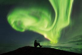 1. Island – polární záře