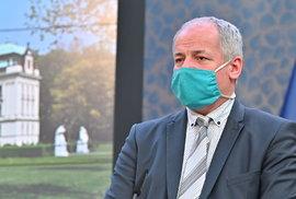 Epidemiolog Roman Prymula po jednání vlády (27.4.2020)