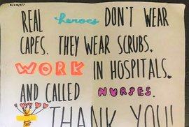 Zdravotní sestra Martina Němcová pracuje v nemocnici White Plains ve státě New York; v první linii je od 16. března