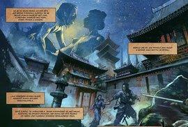Ukázka z třetího dílu Cesty meče, který čítá jen 64 stran