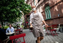 Otevření restaurací v Ostravě