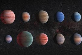 Odhalené exoplanety: Další již známí horcí jupiteři